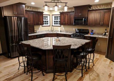 Kitchen Cabinets Dark Sindur Stain