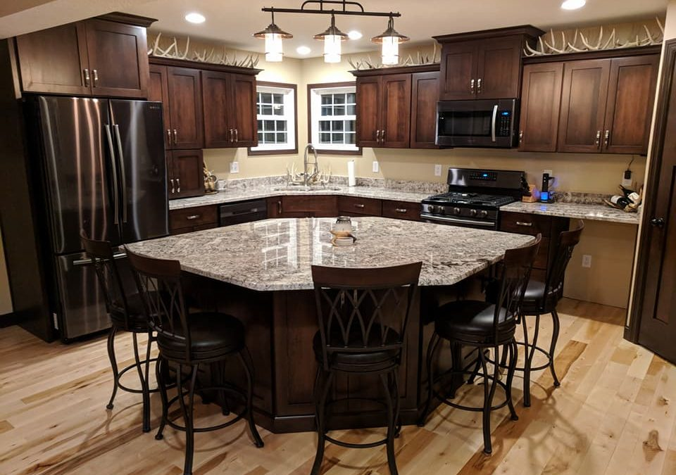 Kitchen Cabinets Full Overlay Shaker Maple With Dark